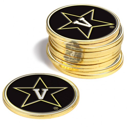 Vanderbilt Commodores 12-Pack Golf Ball Markers