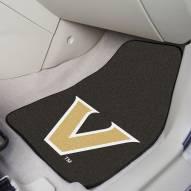 Vanderbilt Commodores 2-Piece Carpet Car Mats