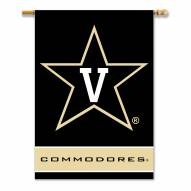 """Vanderbilt Commodores 28"""" x 40"""" Two-Sided Banner"""