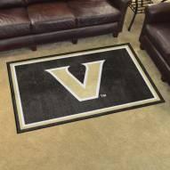 Vanderbilt Commodores 4' x 6' Area Rug