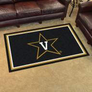 Vanderbilt Commodores 4' x 6' Area Rug
