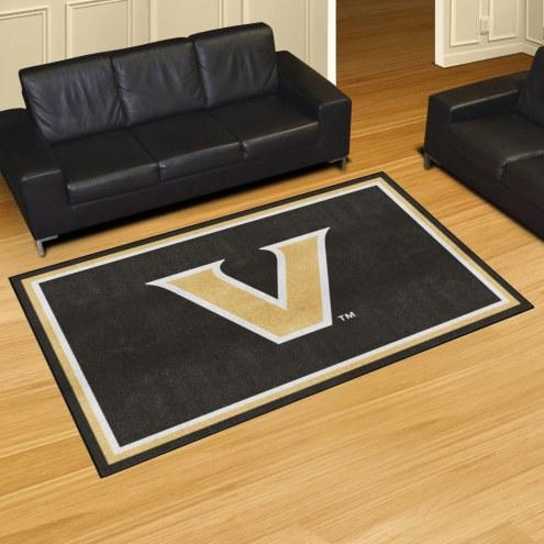 Vanderbilt Commodores 5' x 8' Area Rug