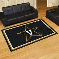 Vanderbilt Commodores 5' x 8' Area Rug