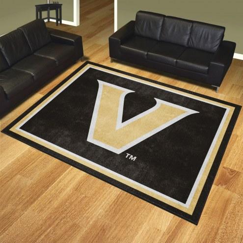 Vanderbilt Commodores 8' x 10' Area Rug