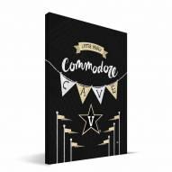 "Vanderbilt Commodores 8"" x 12"" Little Man Canvas Print"