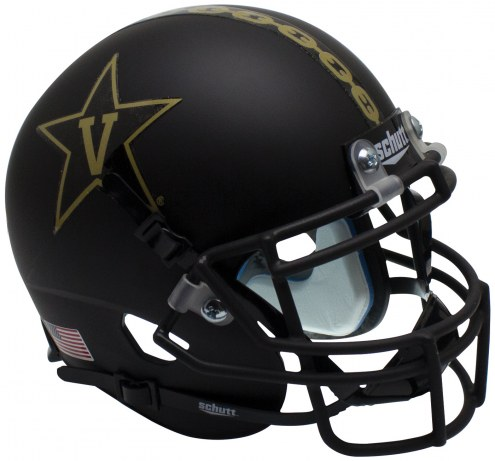Vanderbilt Commodores Alternate 3 Schutt Mini Football Helmet