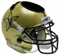 Vanderbilt Commodores Alternate 5 Schutt Football Helmet Desk Caddy
