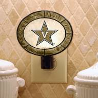 Vanderbilt Commodores Art Glass Night Light