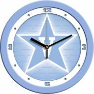 Vanderbilt Commodores Baby Blue Wall Clock