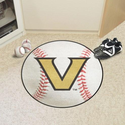 Vanderbilt Commodores Baseball Rug