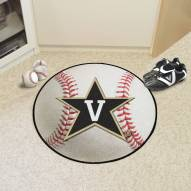 Vanderbilt Commodores Baseball Rug