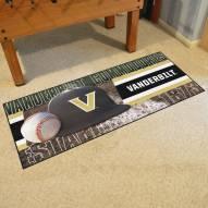 Vanderbilt Commodores Baseball Runner Rug