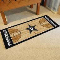 Vanderbilt Commodores Basketball Court Runner Rug