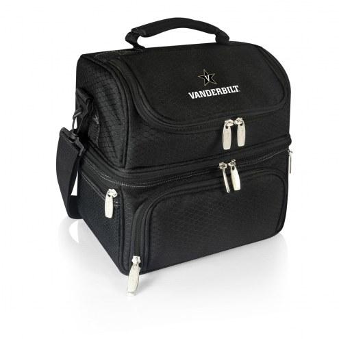 Vanderbilt Commodores Black Pranzo Insulated Lunch Box