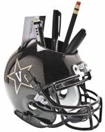 Vanderbilt Commodores Black Schutt Football Helmet Desk Caddy