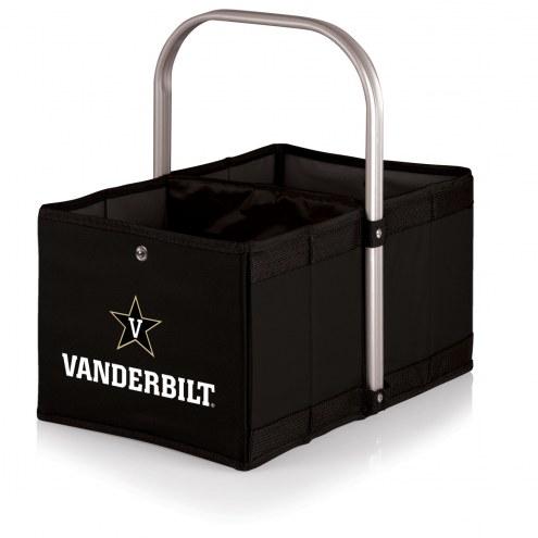 Vanderbilt Commodores Black Urban Picnic Basket