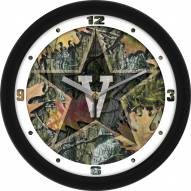 Vanderbilt Commodores Camo Wall Clock