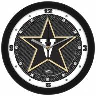 Vanderbilt Commodores Carbon Fiber Wall Clock