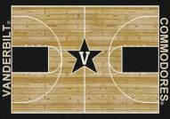 Vanderbilt Commodores College Home Court Area Rug