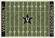 Vanderbilt Commodores College Home Field Area Rug