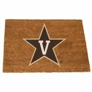 Vanderbilt Commodores Colored Logo Door Mat