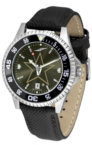 Vanderbilt Commodores Competitor AnoChrome Men's Watch - Color Bezel