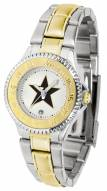 Vanderbilt Commodores Competitor Two-Tone Women's Watch
