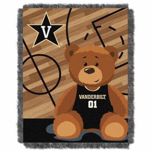 Vanderbilt Commodores Fullback Baby Blanket