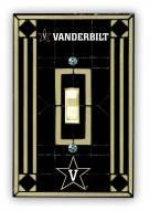 Vanderbilt Commodores Glass Single Light Switch Plate Cover