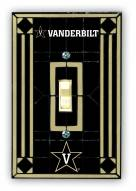 Vanderbilt Commodores Glass Single Light Switch Plate Cover
