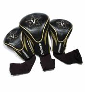 Vanderbilt Commodores Golf Headcovers - 3 Pack