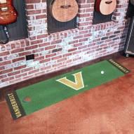 Vanderbilt Commodores Golf Putting Green Mat