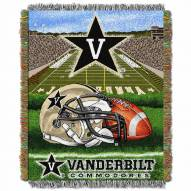 Vanderbilt Commodores Home Field Advantage Throw Blanket