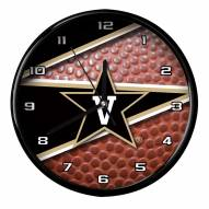 Vanderbilt Commodores Football Clock