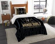 Vanderbilt Commodores Modern Take Twin Comforter Set