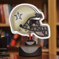 Vanderbilt Commodores Neon Helmet Desk Lamp