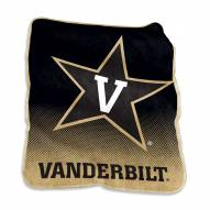 Vanderbilt Commodores Raschel Throw Blanket