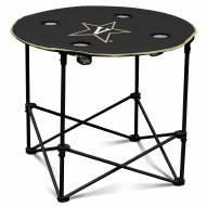Vanderbilt Commodores Round Folding Table