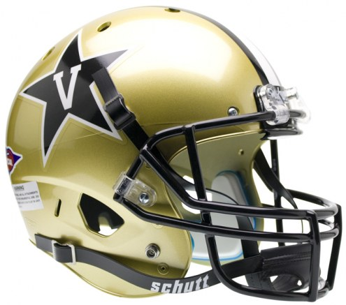 Vanderbilt Commodores Schutt XP Collectible Full Size Football Helmet