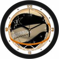 Vanderbilt Commodores Slam Dunk Wall Clock