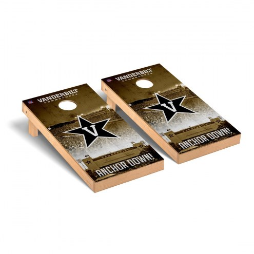 Vanderbilt Commodores Stadium Cornhole Game Set