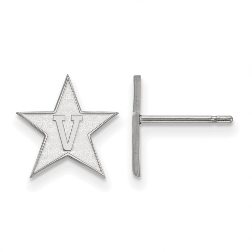 Vanderbilt Commodores Sterling Silver Small Post Earrings