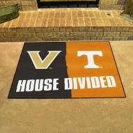 Vanderbilt Commodores/Tennessee Volunteers House Divided Mat