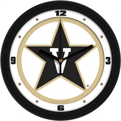 Vanderbilt Commodores Traditional Wall Clock