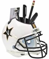 Vanderbilt Commodores White Schutt Football Helmet Desk Caddy
