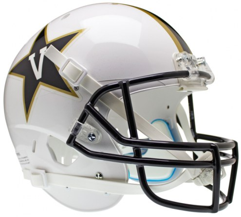 Vanderbilt Commodores White Schutt XP Collectible Full Size Football Helmet