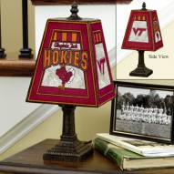 Virginia Tech Hokies NCAA Hand-Painted Art Glass Table Lamp
