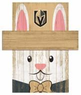 "Vegas Golden Knights 19"" x 16"" Easter Bunny Head"
