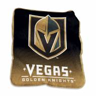 Vegas Golden Knights Raschel Throw Blanket