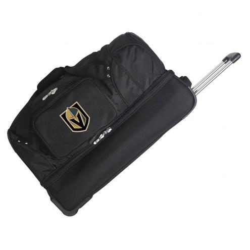 "Vegas Golden Knights 27"" Drop Bottom Wheeled Duffle Bag"